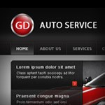 GD Auto Service: Learn How to Create an Awesome Landing Page in Photoshop