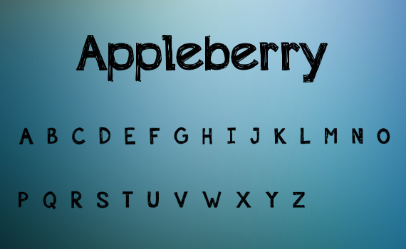 Appleberry-fresh-free-fonts-2011