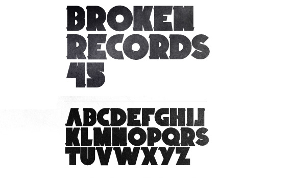 Broken-records-fresh-free-fonts-2011