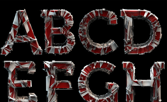 Shattered-fresh-free-fonts-2011