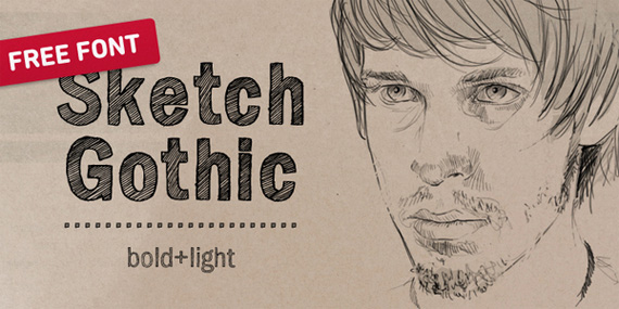 Sketch-gothic-fresh-free-fonts-2011