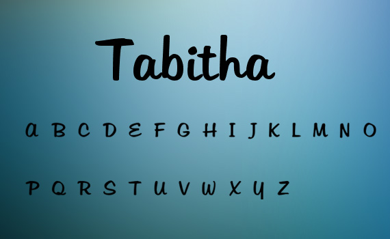 Tabitha-fresh-free-fonts-2011