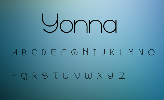 Yonna-fresh-free-fonts-2011