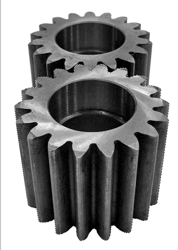 Gears Stock Cutout Photoshop Tutorial Sunflower