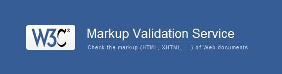 W3C Markup Validators
