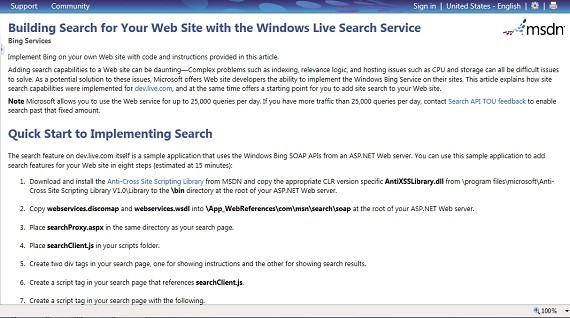 Live Search for Your Website the Easy Way