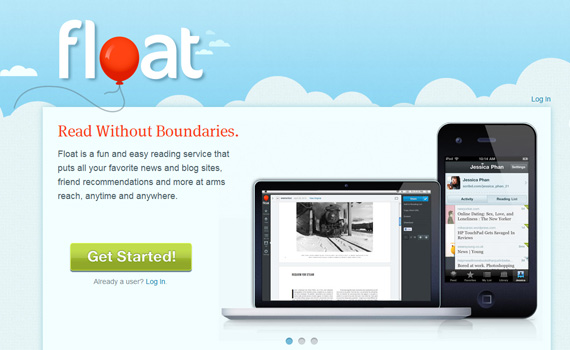 Float-iphone-app-web-design-inspiration