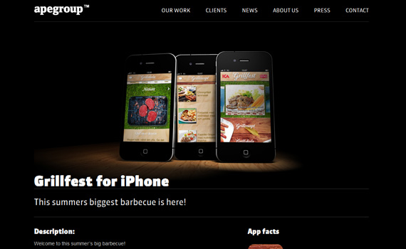 Grillfest-iphone-app-web-design-inspiration