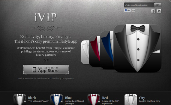 Ivip-iphone-app-web-design-inspiration