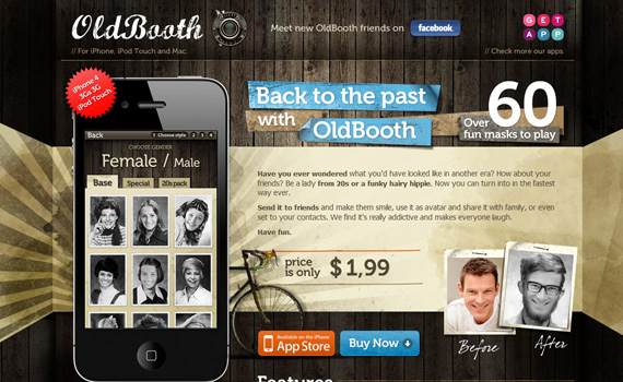Old-booth-iphone-app-web-design-inspiration
