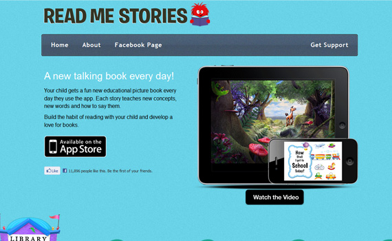 Read-stories-iphone-app-web-design-inspiration
