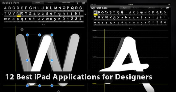 12 Best iPad Applications for Designers