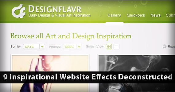9 Inspirational Website Effects Deconstructed