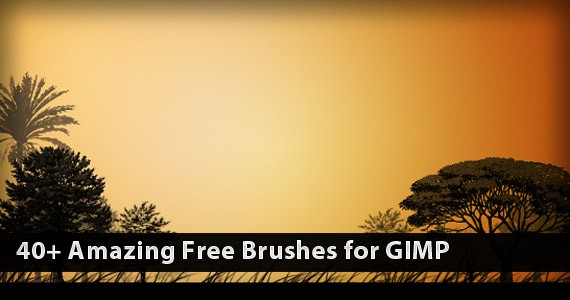 40+ Amazing Free Brushes for GIMP