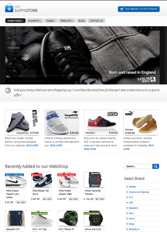 20 Premium WordPress eCommerce Themes And 6 Shopping Cart Scripts