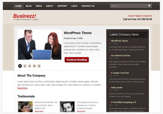 Businezz-Hottest-Wordpress-Themes-Freelancers