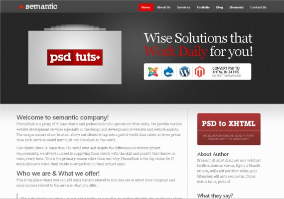 Semantic-Hottest-Wordpress-Themes-Freelancers