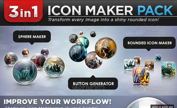 Icon-maker-premium-photoshop-actions