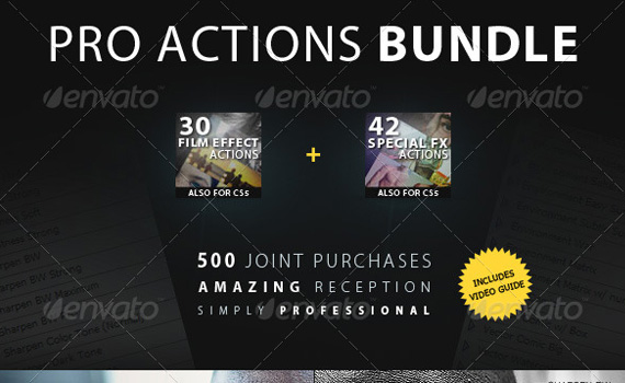 Pro-bundle-premium-photoshop-actions