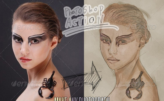 Sketch-art-premium-photoshop-actions