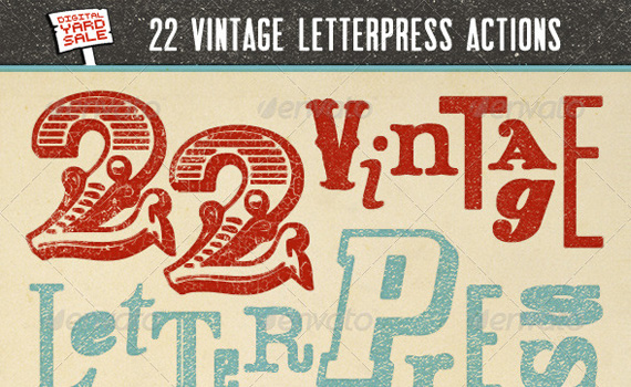 Vintage-letterpress-premium-photoshop-actions