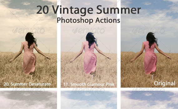 Vintage-summer-premium-photoshop-actions