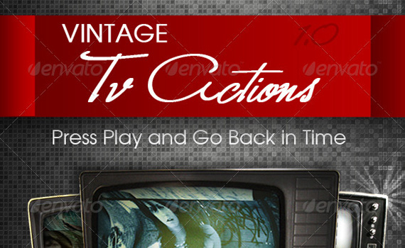Vintage-tv-premium-photoshop-actions