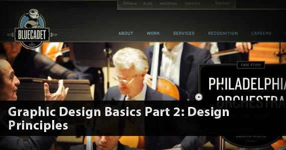 Graphic Design Basics Part 2: Design Principles