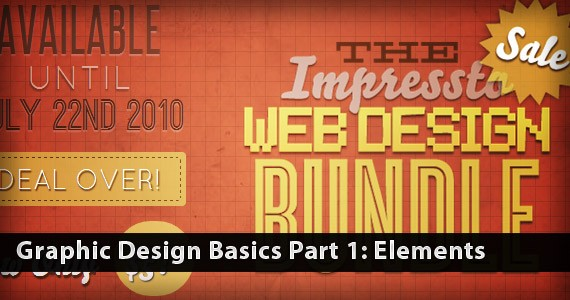 Graphic Design Basics Part 1: Elements