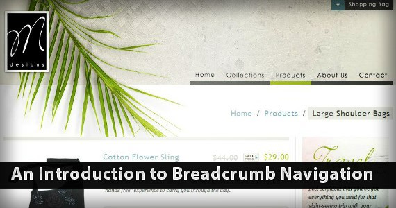 An Introduction to Breadcrumb Navigation