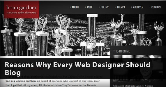 Reasons Why Every Web Designer Should Blog