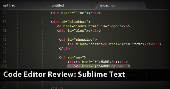 Code Editor Review: Sublime Text