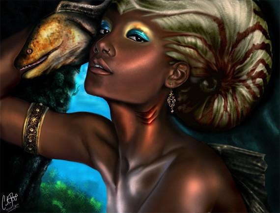 Princess Mermaid by darkimagimp
