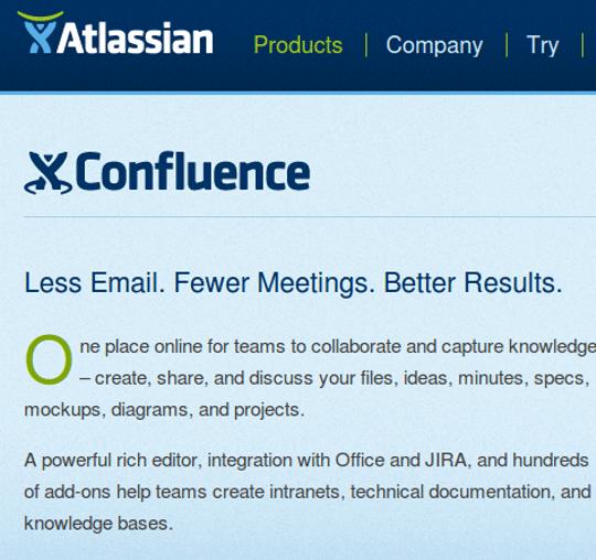 Confluence Enterprise Wiki