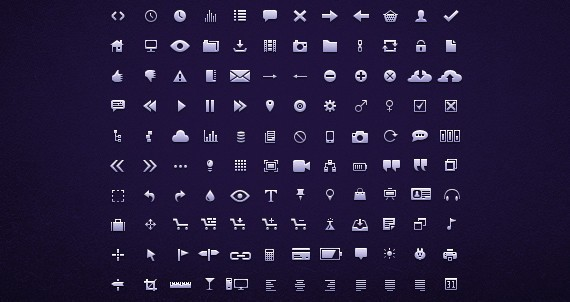 160 Tiny Icons