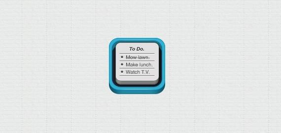 ToDo iPhone App Icon