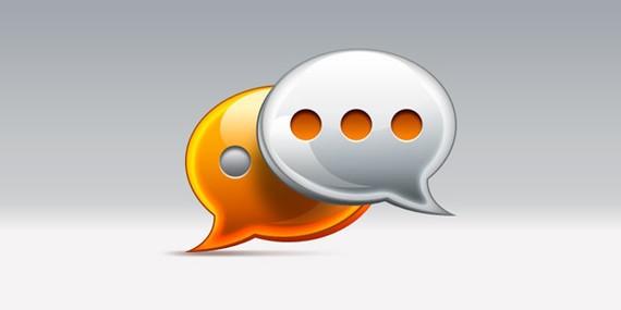 comments / speech bubble icon