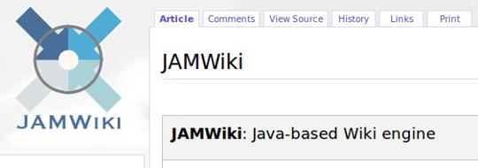 JAMWiki