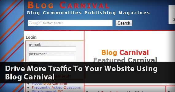 Drive More Traffic To Your Website Using Blog Carnival