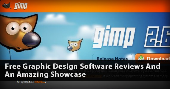 Free Graphic Design Software Reviews And An Amazing Showcase