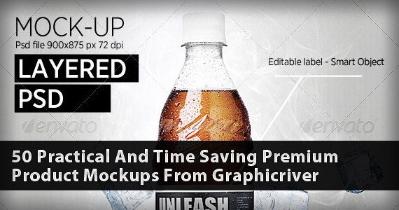 50 Practical And Time Saving Premium Product Mockups From Graphicriver
