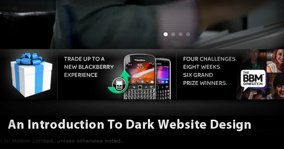 An Introduction To Dark Website Design