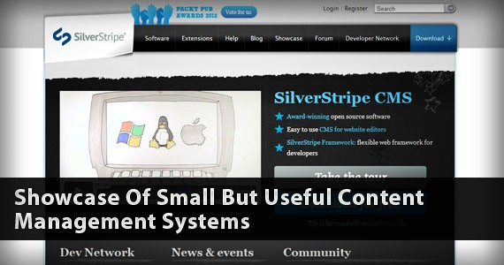 Showcase Of Small But Useful Content Management Systems
