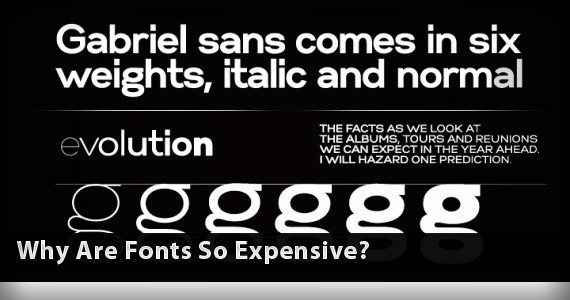 Why Are Fonts So Expensive?