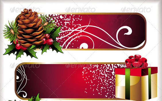 Banners-christmas-winter-premium-backgrounds