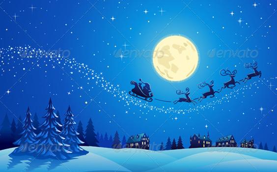 Santa-night-christmas-winter-premium-backgrounds
