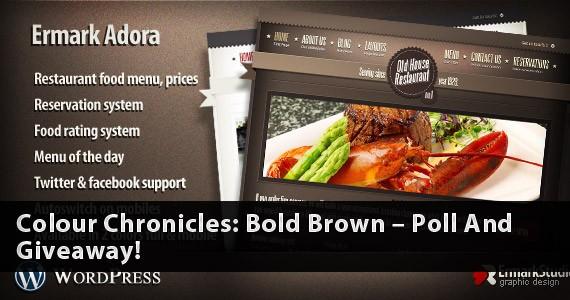 Colour Chronicles: Bold Brown – Poll And Giveaway!