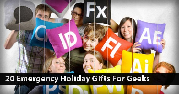 20 Emergency Holiday Gifts For Geeks