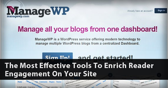 Manage All Your WordPress Sites From One Place: Meet ManageWP