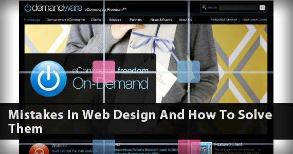 Web Design Mistakes and How to Solve Them
